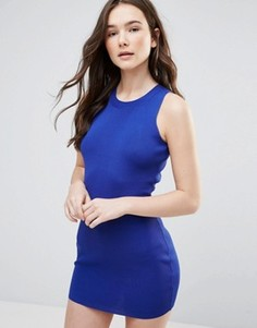 Облегающее платье без рукавов Glamorous - Синий