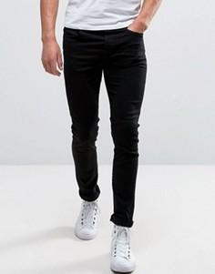 Стретчевые джинсы скинни Selected Homme - Черный