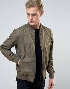 Легкая нейлоновая куртка‑пилот Brave Soul - Зеленый