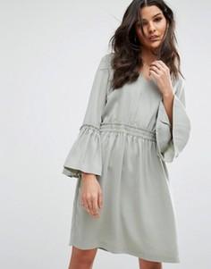 Платье Y.A.S Wilda - Зеленый