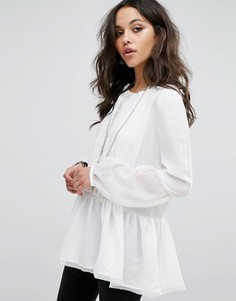 Топ Free People The Soul Serene - Кремовый