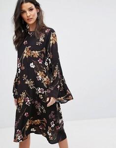 Платье Y.A.S Canto - Черный