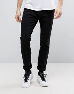 Черные джинсы скинни с начесом Hollister - Черный