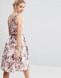 Жаккардовое платье Ted Baker - Мульти