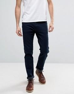 Темно-синие узкие джинсы с заниженной талией Blend - Синий