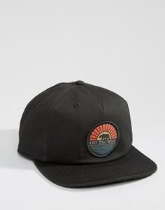 Черная бейсболка Vans Calibear VA2WOCBLK - Черный