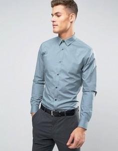 Светло-зеленая рубашка классического кроя New Look - Зеленый