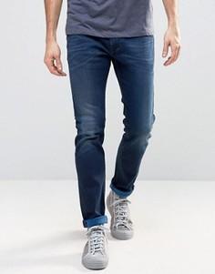 Стретчевые джинсы слим Diesel Thommer 84BV Royal Indigo - Синий