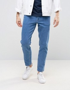 Узкие укороченные джинсы ASOS - Синий