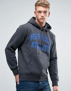 Худи с логотипом Russell Athletic - Серый