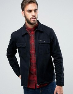 Джинсовая куртка классического кроя на молнии Lee Rider - Черный