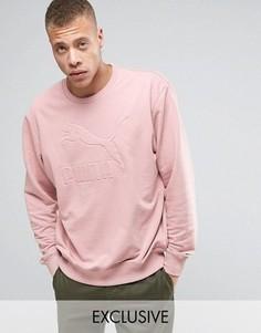 Розовый oversize-свитшот Puma эксклюзивно для ASOS - Розовый