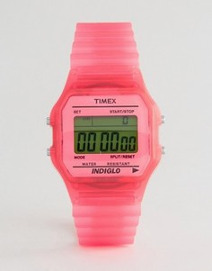 Розовые цифровые часы Timex - Розовый