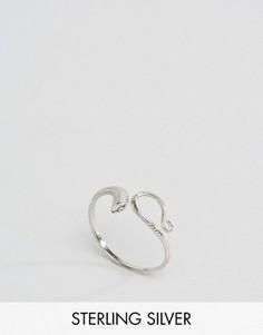 Серебряное кольцо в виде змеи Kingsley Ryan - Серебряный