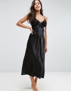 Ночная сорочка макси Lingadore AVA - Черный