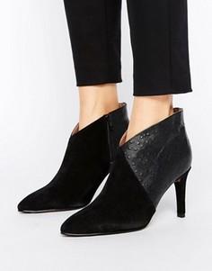 Ботильоны на высоком каблуке Selected Femme Alexandria - Черный