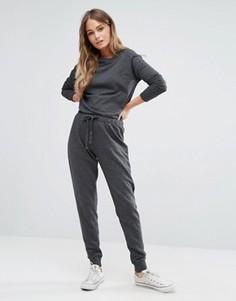 Комбинезон casual со шнурком New Look - Серый