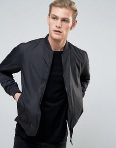 Легкая нейлоновая куртка‑пилот Brave Soul - Черный