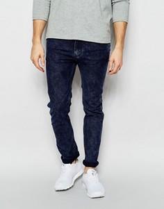 Супероблегающие эластичные джинсы Levis Line 8 Underground - Синий