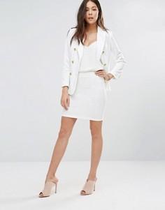 Облегающая мини-юбка Unique 21 - Белый