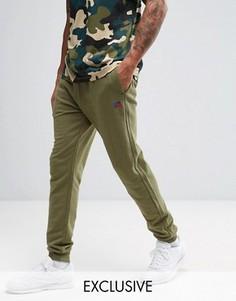 Суперузкие джоггеры Russell Athletic - Зеленый