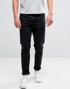 Черные выбеленные джинсы суженного книзу кроя Weekday Sunday - Черный
