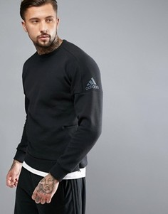 Черный свитшот adidas ZNE B46980 - Черный