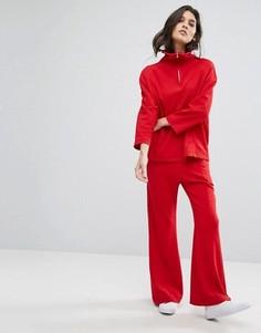 Расклешенные брюки House Of Sunny - Красный