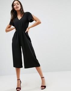 Комбинезон с юбкой-брюками Liquorish - Черный
