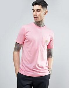 Футболка с карманом Carhartt WIP - Розовый
