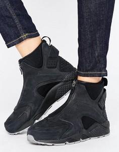 Черные кроссовки средней высоты для бега Nike Air Huarache - Мульти