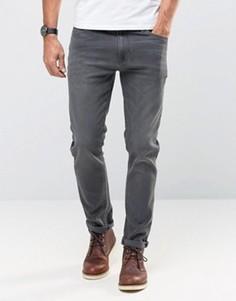 Темно-серые облегающие джинсы ASOS - Серый