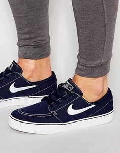 Парусиновые кроссовки Nike SB Zoom Stefan Janoski 615957-414 - Синий