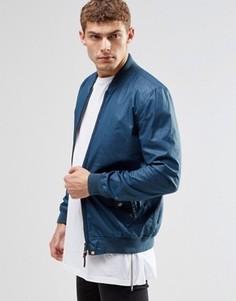 Темно-синяя куртка‑пилот Pretty Green - Синий