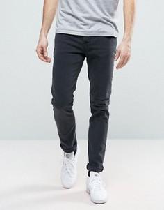 Узкие джинсы Nudie GrimTim - Темно-синий