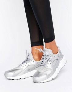 Серебристые кроссовки для бега Nike Air Huarache - Мульти