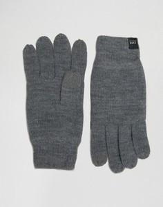 Перчатки для сенсорных гаджетов Jack & Jones DNA - Серый