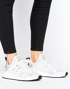 Пастельные камуфляжные кроссовки adidas Originals NMD R1 - Белый