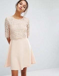 Кружевное платье Suncoo - Розовый