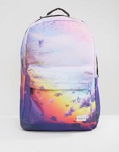 Рюкзак с принтом облаков Spiral - Фиолетовый
