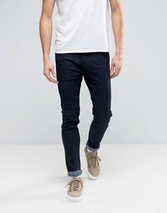 Зауженные джинсы стретч цвета индиго Levis Line 8 RFP - Темно-синий