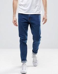 Узкие джинсы из органического хлопка Dr Denim Clark - Синий