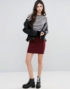 Облегающая юбка-карандаш Vila - Черный