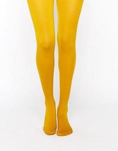 Колготки горчичного цвета Gipsy - Желтый