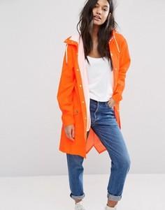 Непромокаемая куртка Rains - Оранжевый