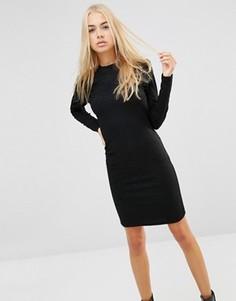 Облегающее платье Minimum Alpha - Черный