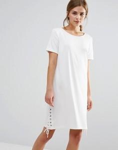 Цельнокройное платье Vila - Белый