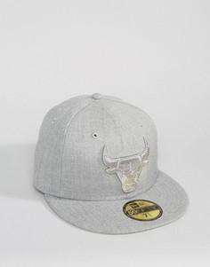 Серовато-фиолетовая кепка New Era 59Fifty Toronto Raptors - Серый