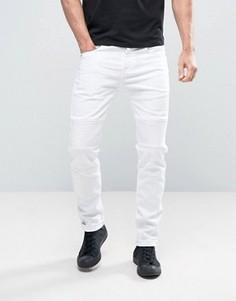 Байкерские джинсы скинни Sixth June - Белый
