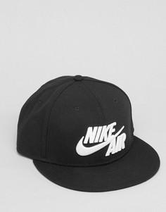 Черная бейсболка с логотипом Nike Air 805063-010 - Черный